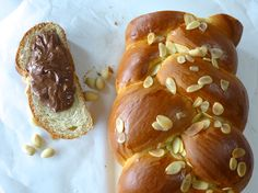 Traditional Greek Easter bread -tsoureki #recipe #easter #brioche #tsoureki #bread