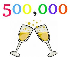 Oct 2016 - lifetime sales of 500,000 books
