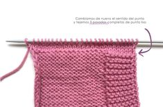 Capota de Punto FÁCIL - PIXIE - [ Tutorial Paso a Paso y Patrón GRATIS ] Diy Crafts Knitting, Easy Knitting Patterns, Crochet Patterns, Knitted Baby Cardigan, Knit Beanie Hat, Crochet Cap, Diy Crochet, Baby Hats Knitting, Knitted Hats