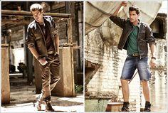As jaquetas jeans estão de volta à moda, inclusive para complementar o visual masculino. No inverno 2013, esse item versátil irá compor looks desde os mais descontraídos e joviais até propostas mais elegantes e modernas. Conheça as jaquetas jeans do inverno 2013 no nosso blog!     http://www.farump.com.br/blog/index.php?id=64