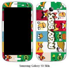 Angry Birds Samsung Galaxy S3 Vinyl Skin