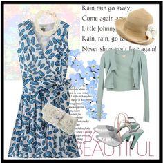 パーソナルカラー「サマー」の方にオススメ。夏のお出掛け&おめかしファッションです。 Rain Go Away, Going To Rain, Soft Summer, Smile, Beauty, Color, Closet, Fashion, Moda