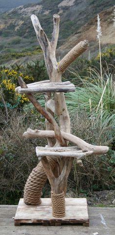 Diy Moebel Kreative Wohnideen Tisch Aus Holz Und Glas Selber Bauen ... Aus Naturmaterialien Bauen