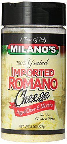 Milanos 100 Imported Romano Cheese Jar 8 Ounce -- You can find out more details at the link of the image. (Note:Amazon affiliate link)