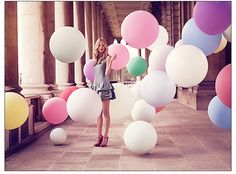 Luis Monteiro, outdoor, balloons, summer, fun