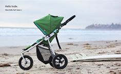 Bumbleride Indie. The lightest all-terrain stroller that can be used for jogging. Perfect. - @Elizabeth Eldridge