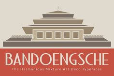 Check out Bandoengsche Typeface by Absolut Foundry on Creative Market