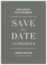 Save the date - Paperless Post