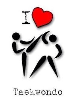 I ❤️ taekwondo