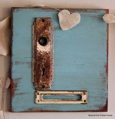 Cartas de amor reutilizados cartas chatarra http://bec4-beyondthepicketfence.blogspot.com/