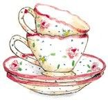 Susan Branch teacups