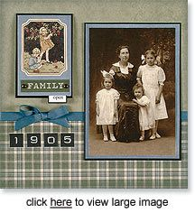 Ancestry / Family history / Genealogy scrapbook page Heritage Scrapbook Pages, Scrapbook Titles, Vintage Scrapbook, Scrapbook Journal, Scrapbook Sketches, Scrapbook Page Layouts, Scrapbook Cards, Scrapbooking 101, Scrapbook Paper Crafts