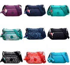 bfec7a3ce3c Women's Kipling Nylon Canvas Shoulder Bag Messenger Crossbody Bag Handbag  Purses #Kipling #ShoulderBags Canvas