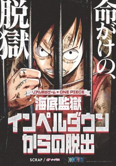 Real Escape Game inspired by One Piece (Impel Down saga)