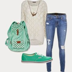 Super na Moda: Outfits inspiration - Back to school ♡ #7