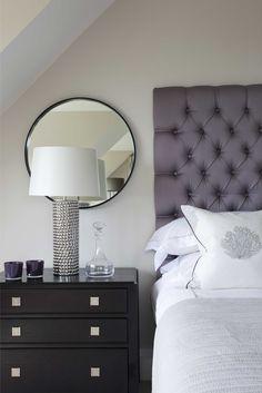 th2 Designs.© Bold Bespoke Deep Button Headboard, Interior Design, Luxury Master…