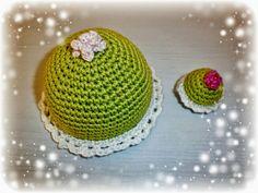 Crochet Cake - Virkade tårtor - Crocheted by Susanna
