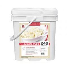Dunn Deal Mall - 240 Servings Freeze Dried Cauliflower Snack Meal , $86.94 (http://www.dunndealmall.com/240-servings-freeze-dried-cauliflower-snack-meal/)