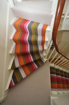 A bold striped runner from www.bowloom.co.uk