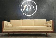 Mid Century Modern Milo Baughman Style Walnut by TDFurniture