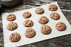 Hot Chocolate Chip Cookies-    2 sticks Salted Butter, At Room Temperature     1 cup White Granulated Sugar (I Like Baker's)     ⅔ cups Packed Light Brown Sugar     2 whole Large Eggs     1 teaspoon Pure Vanilla     3-¼ cups All-purpose Flour     4 packages (1 Oz. Packets, NOT Sugar-free) Hot Chocolate Mix     1 teaspoon Salt     1-¼ teaspoon Baking Soda     1 cup Each White, Milk, And Semi-sweet Chocolate Chips