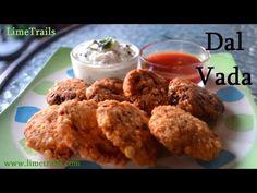 Dal Vada Recipe || Masala Vada Recipe || Chana Dal Vada || Masala Vadai ...