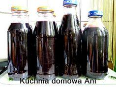 Kuchnia domowa Ani: Sok z czarnej porzeczki bez sokownika Coca Cola, Water Bottle, Canning, Drinks, Drinking, Beverages, Coke, Water Bottles, Drink