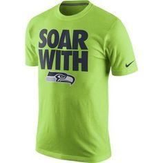 Seattle Seahawks Nike Team Spirit Alternate T-Shirt - Green 668a4a6e2