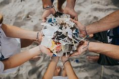 In 2017 we conducted beach cleanups in 16 different countries throughout the world and removed over pounds of trash from the ocean 4 Oceans, Beach Clean Up, Clean Ocean, White Polar Bear, Polar Bears, Reef Shark, One Pound, Shark Week, Ocean Photography