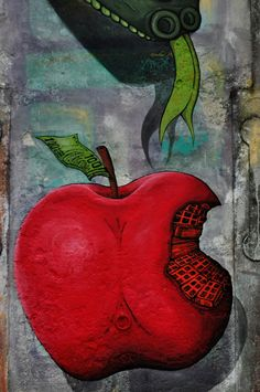 Streetart: New Mural by Sokram im Spain (6 Pictures)