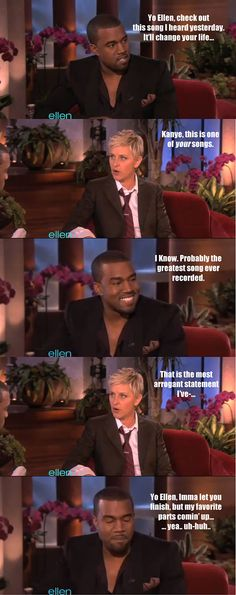 Haha, Making fun of Kanye will never get old.