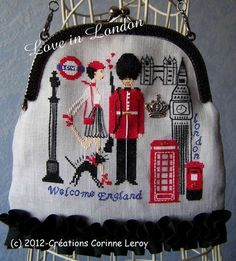 London embroidery.