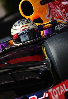Sebastian Vettel - F1 Grand Prix of Monaco: Qualifying