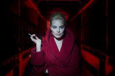 First look image of Margot Robbie in the noir thriller TERMINAL