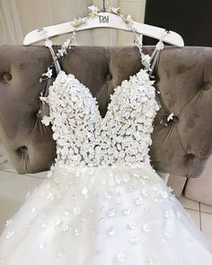 Photo shared by Just Wedding Bells on March 18 2020 tagging andYou can find Wedding gowns and more on our website.Photo shared by Just W. Flower Dresses, Pretty Dresses, Beautiful Dresses, Gorgeous Dress, Dream Wedding Dresses, Bridal Dresses, Wedding Gowns, Bridesmaid Dresses, Yes To The Dress