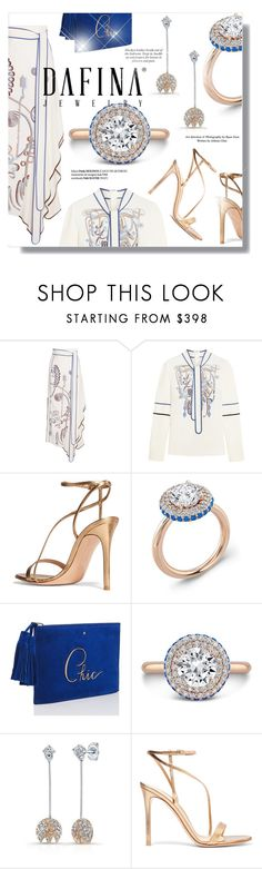 """""""Dafina Jewelry"""" by sans-moderation ❤ liked on Polyvore featuring Peter Pilotto, Gianvito Rossi and Kate Spade"""