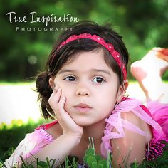 Tie back Headband Fuschia Flowers with by trueinspirationprops, $15.00  Photo by True Inspiration Photography