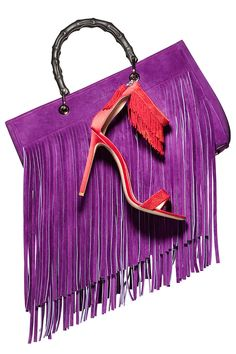 Trends - fringed - monstylepin #trends #fashion #accessories #fringes