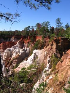 Providence Canyon, the Little Grand Canyon of the South, Georgia