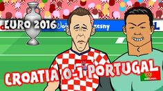 Croatia vs Portugal - Quaresma goal and highlights! (0-1 Euro 2016 Franc...