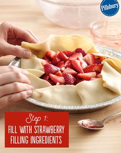 This Grilled Strawberry Pie is the perfect berry dessert for summer cookouts and parties! This recipe uses fresh strawberries with an easy filling that is fun to make. This sweet dessert will become a family favorite.