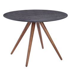 Grapeland Heights Mid-century Walnut and Black Dining Table | Overstock.com Shopping - The Best Deals on Dining Tables