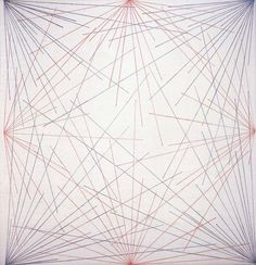 Sol Lewitt: Wall Drawing No.273 4th Wall, 1975