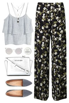 """""""Untitled #222"""" by tmizzle ❤ liked on Polyvore featuring H&M, Miss Selfridge, MICHAEL Michael Kors, Kosha and Jack Wills"""