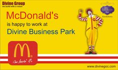 #McDondalds is one of the proud ventures at #Divine #BusinessPark because it is experiencing expected footfall.
