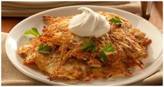 Garden Pancakes Brunch Recipes, Breakfast Recipes, Pancake Recipes, Breakfast Ideas, Yummy Recipes, Potato Recipes, Vegetable Recipes, Sweet Potato Latkes, Hanukkah Food