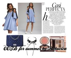 OOTD for Summer 2017 with  Shein by ralucica-andreea on Polyvore featuring Charlotte Tilbury and Whiteley