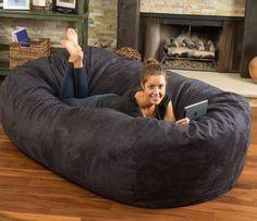 """De nuestros modelos más vendidos """"TOOT"""". Perfecto y cómodo para cualquier espacio. Giant Bean Bags, Large Bean Bags, Large Bean Bag Chairs, Dorm Furniture, Chair Drawing, Bean Bag Sofa, Multipurpose Furniture, Ikea Chair, Bedroom Chair"""
