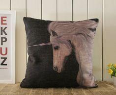 Black Unicorn Pillow | Beautiful Cases For Girls