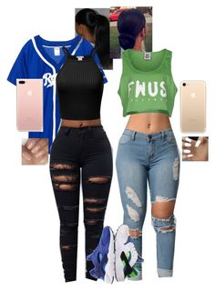 """First Day"" by itzjustchy on Polyvore featuring NIKE and Follow Us"